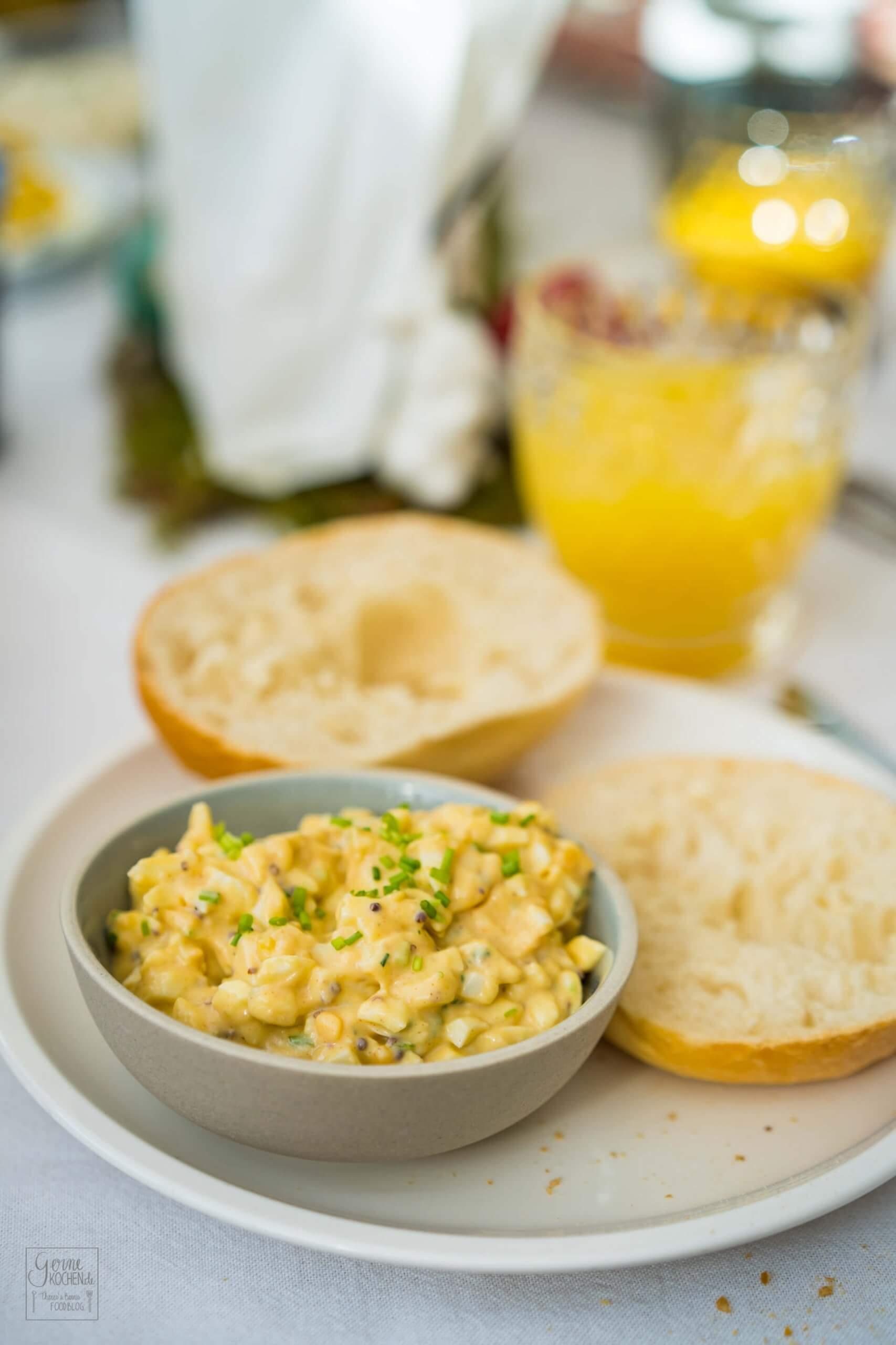 Der beste Eiersalat – zum Food.Blog.Friends Osterbrunch