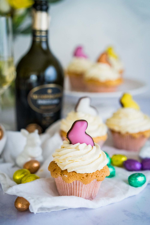 Prosecco-Cupcakes – Süßes zum Osterbrunch [enthält Werbung]