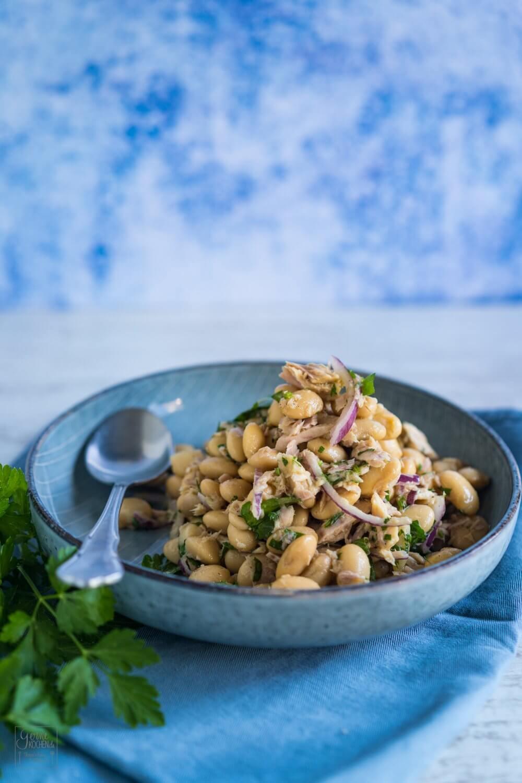 Thunfisch-Bohnen-Salat