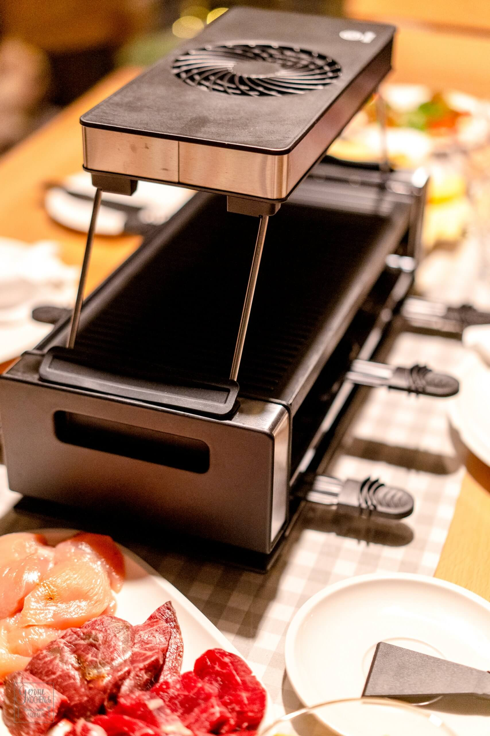 Unser perfekter Raclette Grill
