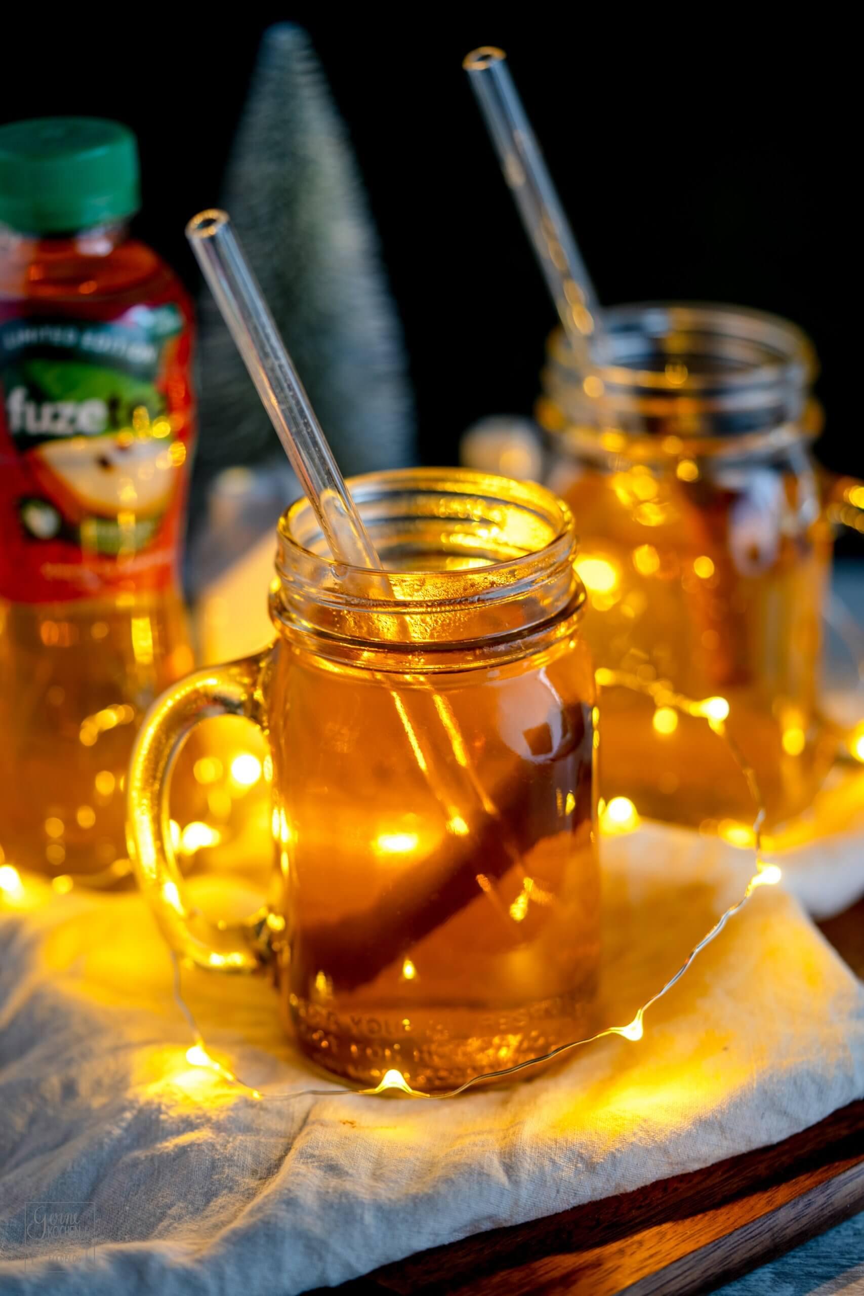 Weihnachtlicher Apfelpunsch (alkoholfrei)