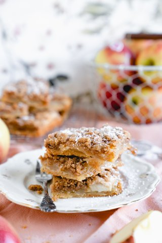 Apfelkuchen mit 5 Zutaten