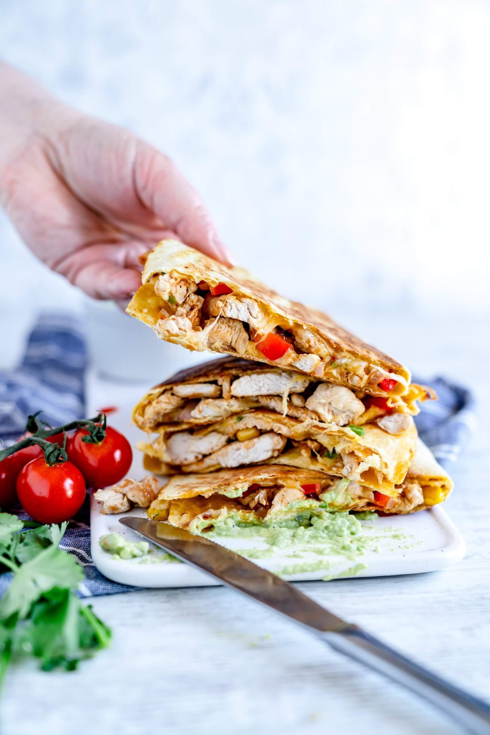 Quesadillas - perfekt für das Homeoffice - Rezept von Gernekochen.de