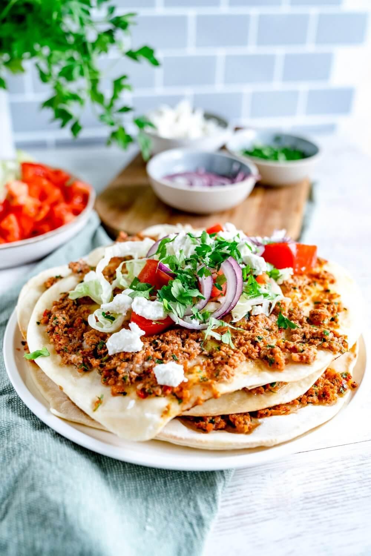 Lahmacun Türkische Pizza