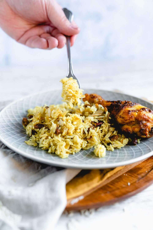 Orientalischer Reis