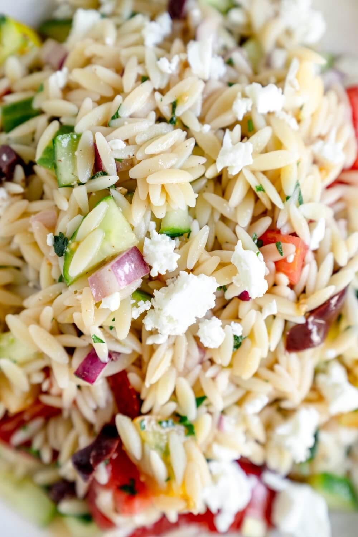 Orzo-Salat