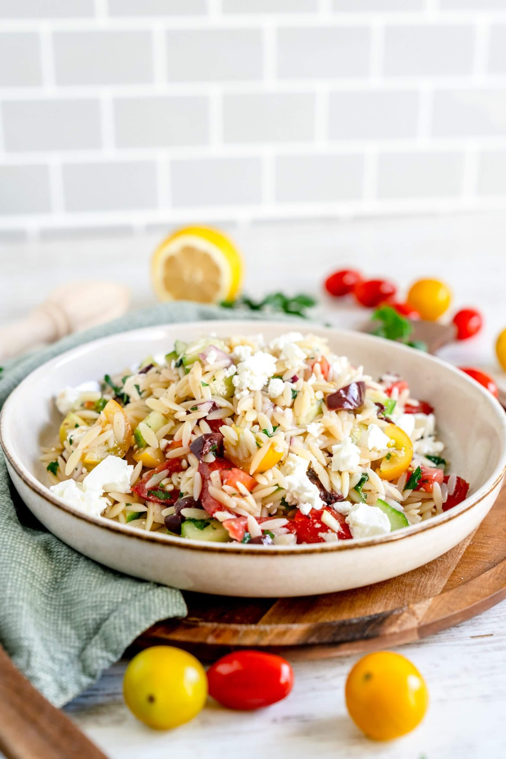 Orzo-Salat  – Mal etwas anderes