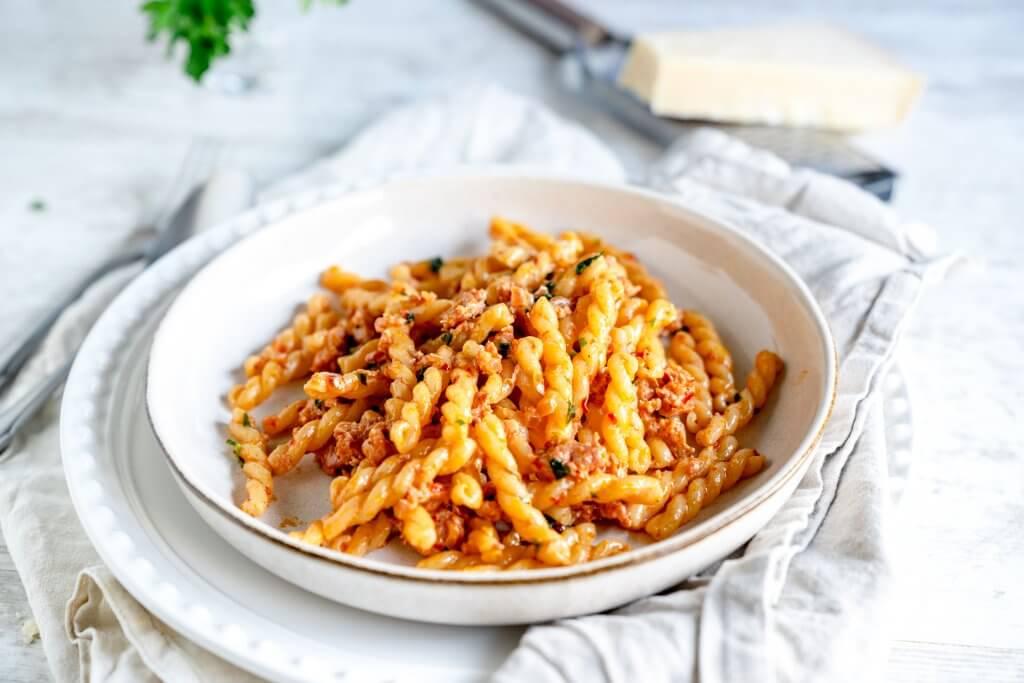 Pasta mit Salsiccia