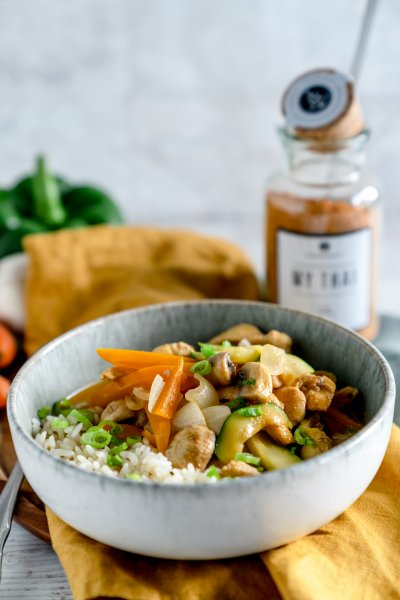 My Thai Curry – Rezept zu unserer neuen Gewürzmischung