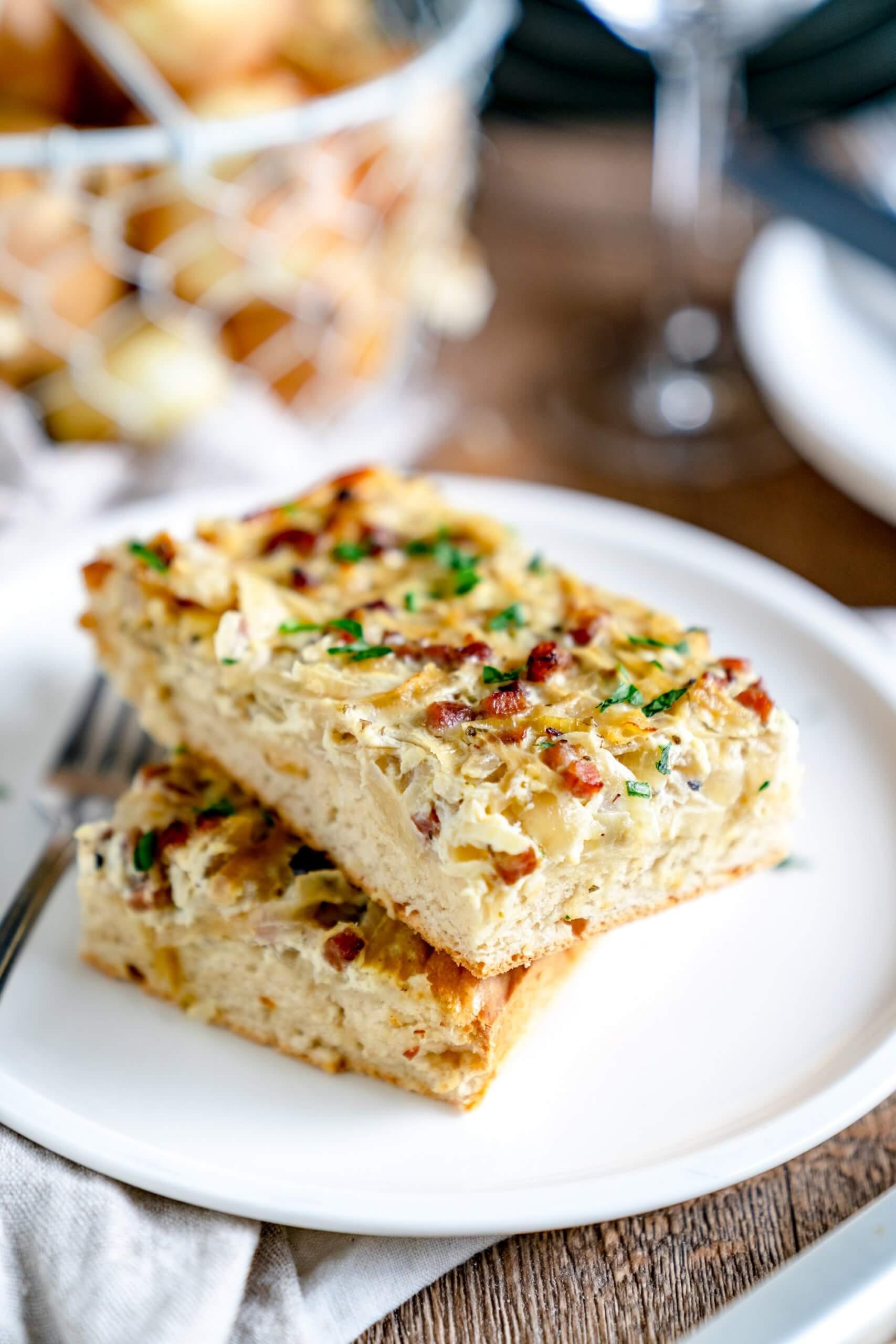 Zwiebelkuchen – so schmeckt Heimat